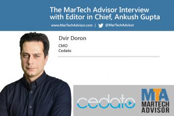 Cover Photo for Dvir Interview MarTech Advisor Feb 2017